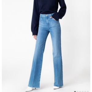 J brand Joan super high-rise wide straight jeans